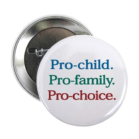 """Pro-Choice 2.25"""" Button (100 pack)"""