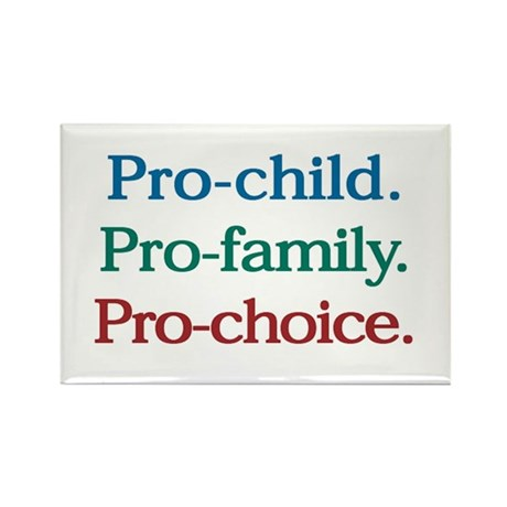 Pro-Choice Rectangle Magnet (10 pack)