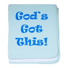 God's Got This B baby blanket