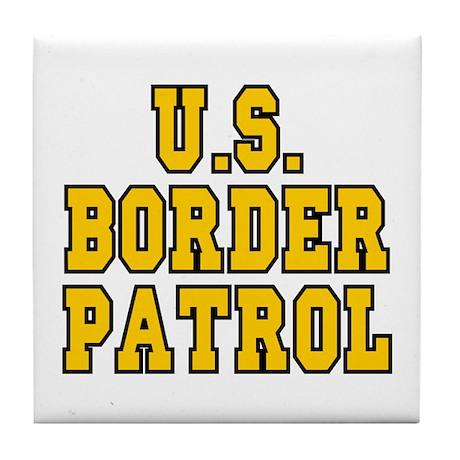 U.S. BORDER PATROL: Tile Coaster