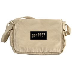 Got PPE? International Messenger Bag