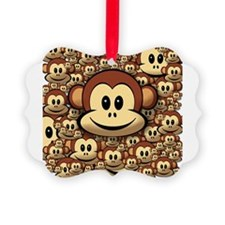 Cute Monkey Ornament