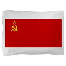 Russia - Soviet Union Flag -1923-1991 Pillow Sham