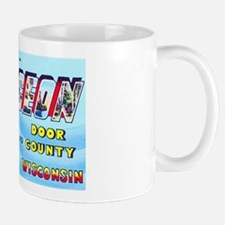Sturgeon Bay Wisconsin Greetings Mug