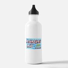 Sturgeon Bay Wisconsin Greetings Water Bottle