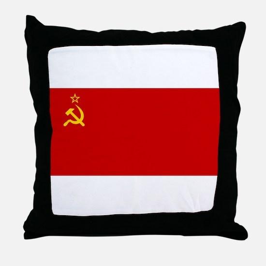 Russia - Soviet Union Flag -1923-1991 Throw Pillow