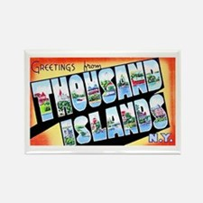 Thousand Islands New York Rectangle Magnet