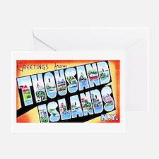 Thousand Islands New York Greeting Card