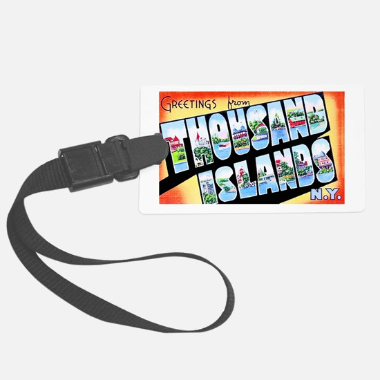 Thousand Islands New York Luggage Tag