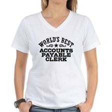 World's Best Accounts Payable Clerk Shirt