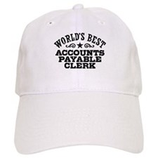 World's Best Accounts Payable Clerk Baseball Cap