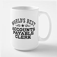 World's Best Accounts Payable Clerk Mug