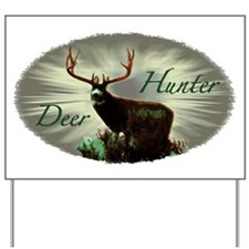 Deer Hunter Yard Sign