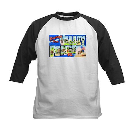 Valley Forge Pennsylvania Kids Baseball Jersey
