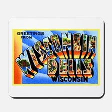 Wisconsin Dells Greetings Mousepad