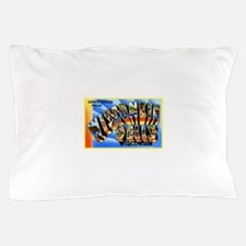 Wisconsin Dells Greetings Pillow Case