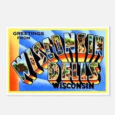 Wisconsin Dells Greetings Postcards (Package of 8)