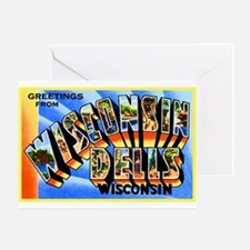 Wisconsin Dells Greetings Greeting Card
