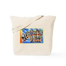 Wisconsin Dells Greetings Tote Bag