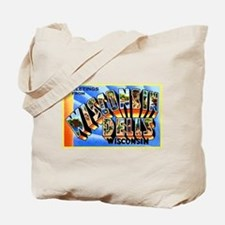 Wisconsin Dells Greetings Tote Bag