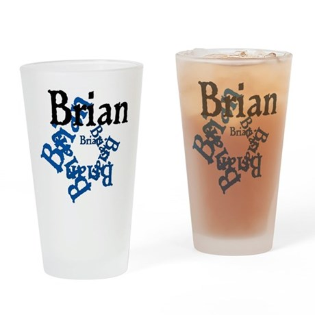 Brian Drinking Glass