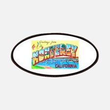 Monterey California Greetings Patches