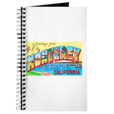 Monterey California Greetings Journal