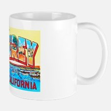 Monterey California Greetings Mug