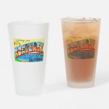 Monterey California Greetings Drinking Glass
