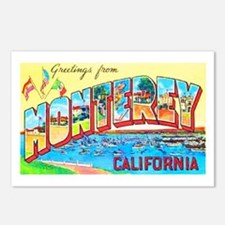 Monterey California Greetings Postcards (Package o