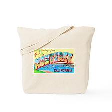 Monterey California Greetings Tote Bag