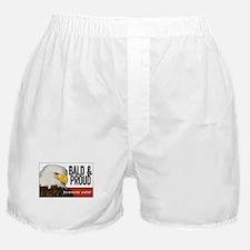 "Bald Eagle ""Bald & Proud"" Boxer Shorts"