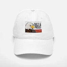 """Bald Eagle """"Bald & Proud"""" Baseball Baseball Cap"""