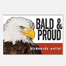 "Bald Eagle ""Bald & Proud"" Postcards (Package of 8)"