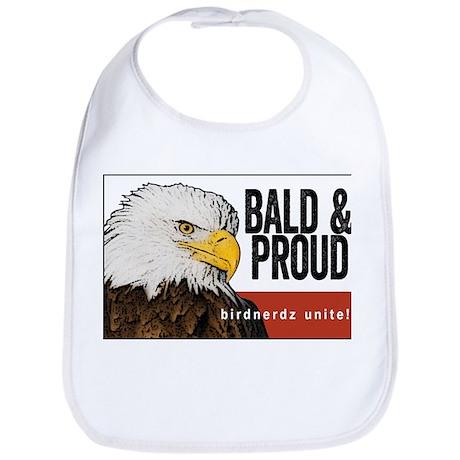"Bald Eagle ""Bald & Proud"" Bib"