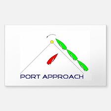 Port Approach - logo Decal