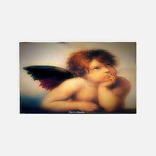Putti Angel 1513 3'x5' Area Rug