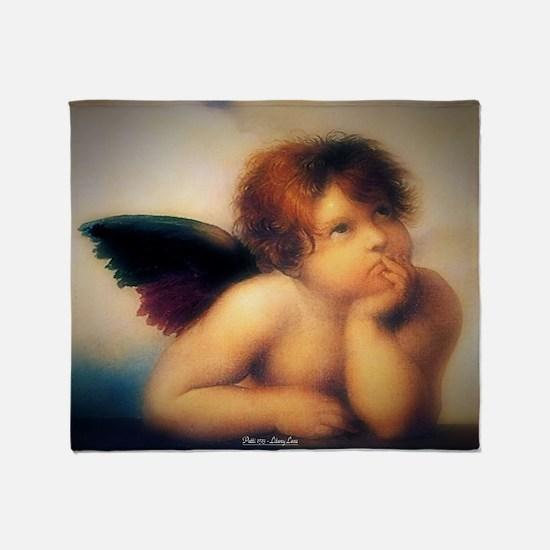 Putti Angel 1513 Throw Blanket