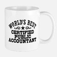 World's Best Certified Public Accountant Small Small Mug