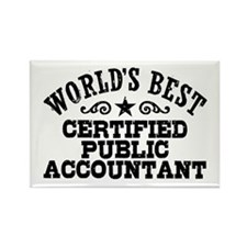 World's Best Certified Public Accountant Rectangle