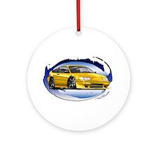 Yellow CRX Ornament (Round)