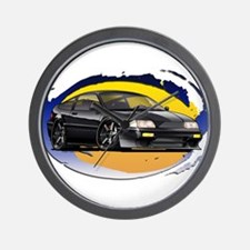 Black CRX Wall Clock