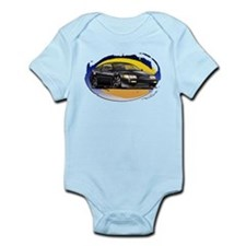 Black CRX Infant Bodysuit
