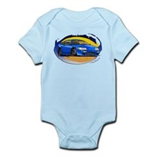 Blue CRX Infant Bodysuit