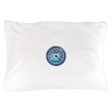 Clausometer Pillow Case
