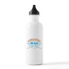 Purgatory Crossed-Skis Badge Water Bottle