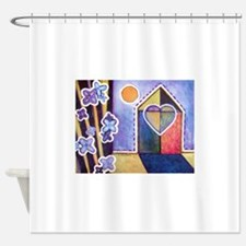 House and Home Shower Curtain