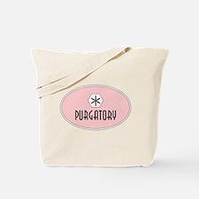 Purgatory Retro Patch Tote Bag