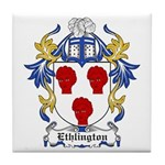 Ethlington Coat of Arms Tile Coaster