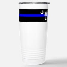 Cute Thin blue Travel Mug